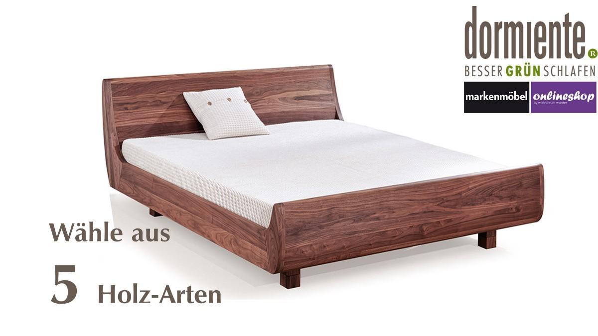 Dormiente Massivholz Bett Mola 160 X 200 Cm 5 Verschiedene Holz Arten Zur Auswahl