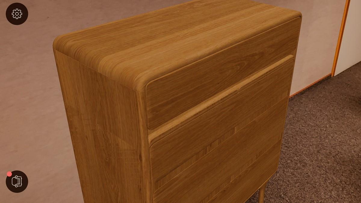 GAZZDA Möbel in der Augmented Reality