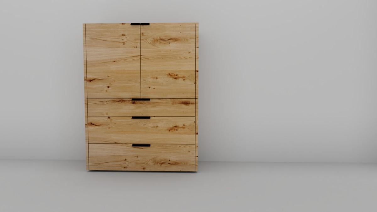 hülsta FENA Kommode #8103 mit 2 Türen, 3 Schubladen - 2 verschiedene  Designs!