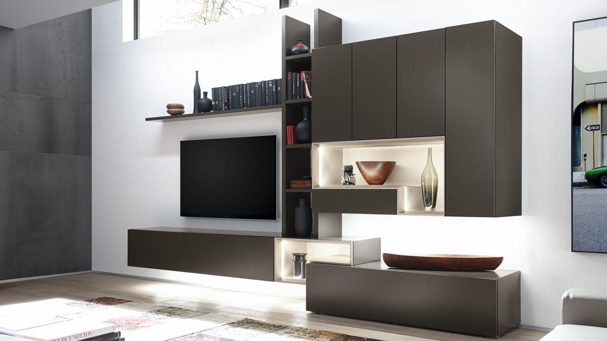 hülsta TETRIM Wohnwand #9 - Verschiedene Designs zur Auswahl