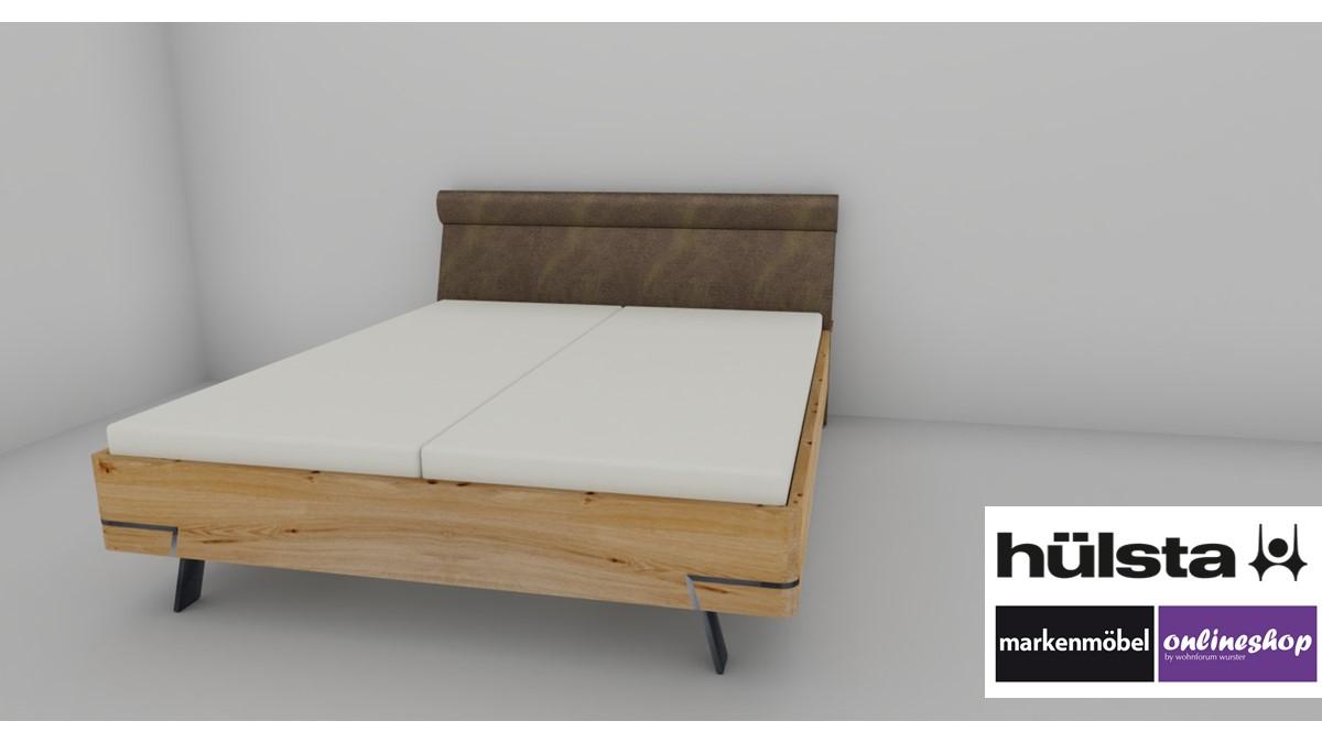 hülsta FENA Bett mit tiefenverformtem Polsterkopfteil - in verschiedenen  Maßen und Designs!