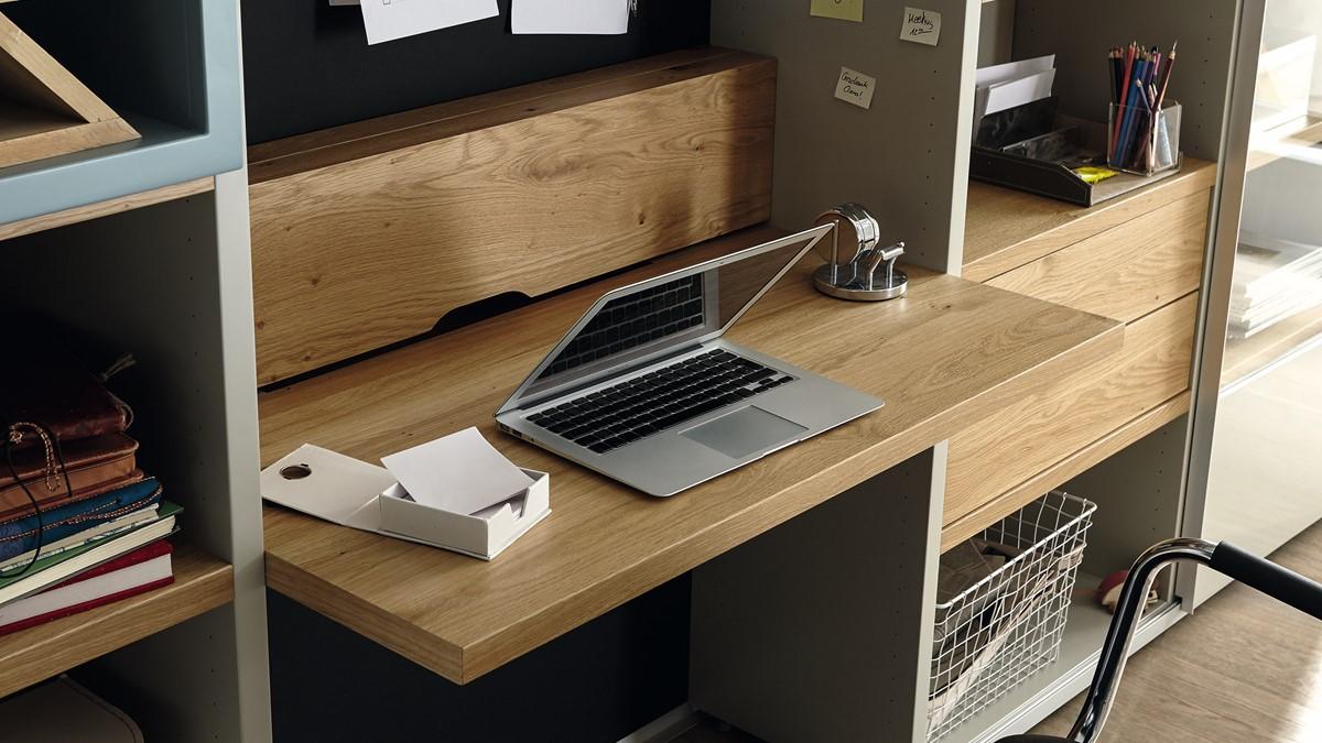 Hulsta Now Time Schreibtischwand Online Konfigurieren