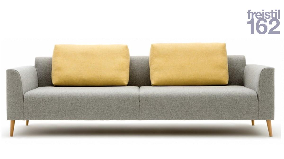 freistil 162 Korpus-Sofabank – H 74 cm x B 232 cm x T 92 cm - Kissen im Preis nicht enthalten