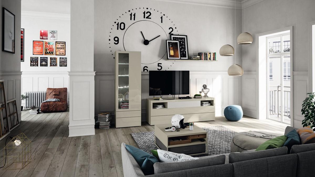 Mit der richtigen Raumgestaltung können moderne Möbel direkt in den Patchwork-Stil überführt werden. Die Grenzen zwischen den Wohnstil-Welten sind fließend. (Bild NOW! by hülsta, NOW! VISION)