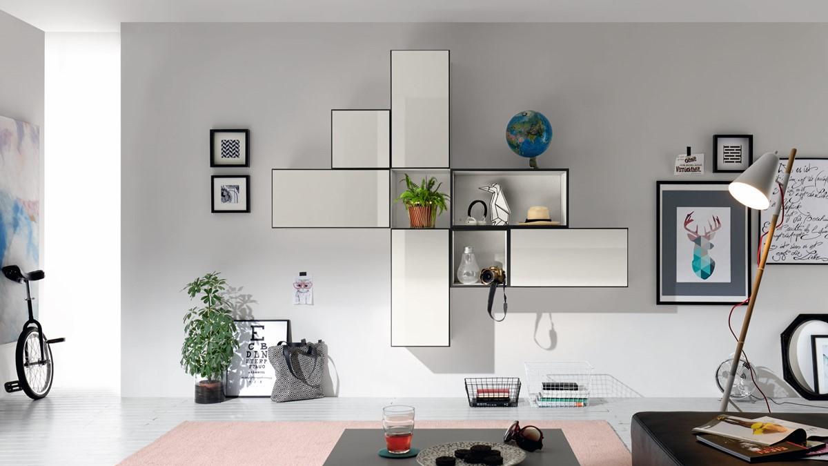 Modulare Möbel-Systeme, die man immer wieder neu arrangieren kann sind wie geschaffen für Patchworker, die sich immer wieder nach einem neuen Look sehnen. (Bild NOW! by hülsta, NOW! TO GO)