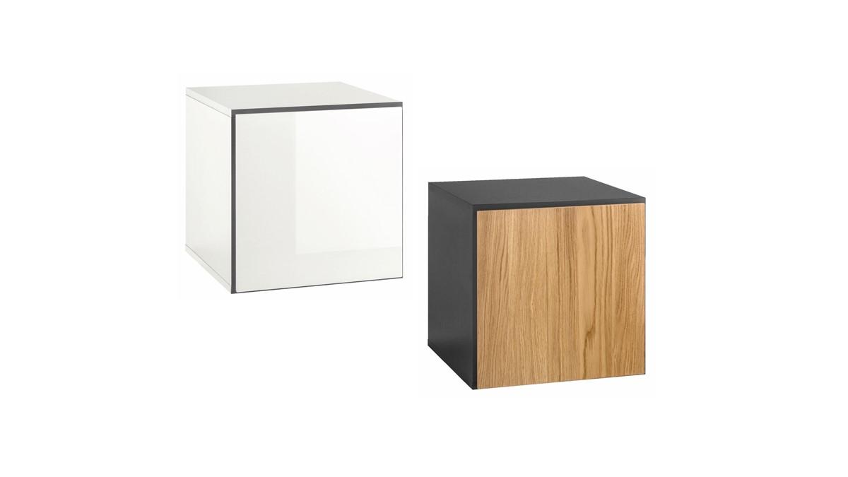 hülsta NOW! TO GO Einzel-Box geschlossen quadratisch - 2 verschiedene Looks zur Auswahl