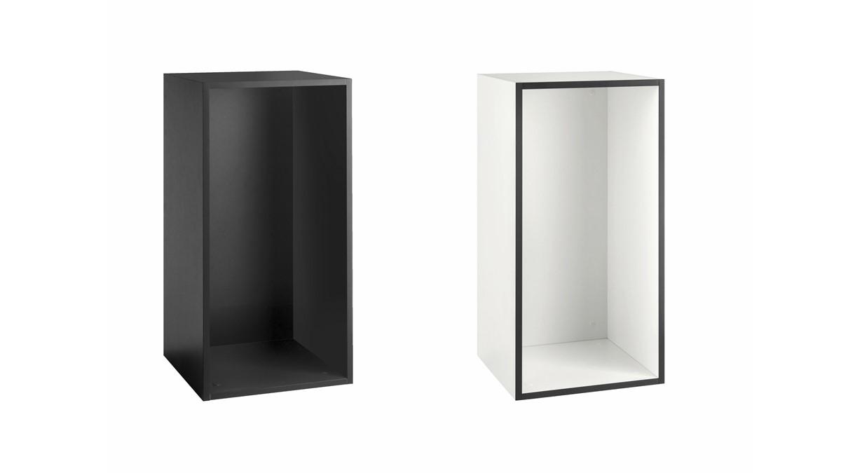 hülsta NOW! TO GO Einzel-Box offen rechteckig sowohl vertikal als auch horinzintal montierbar!