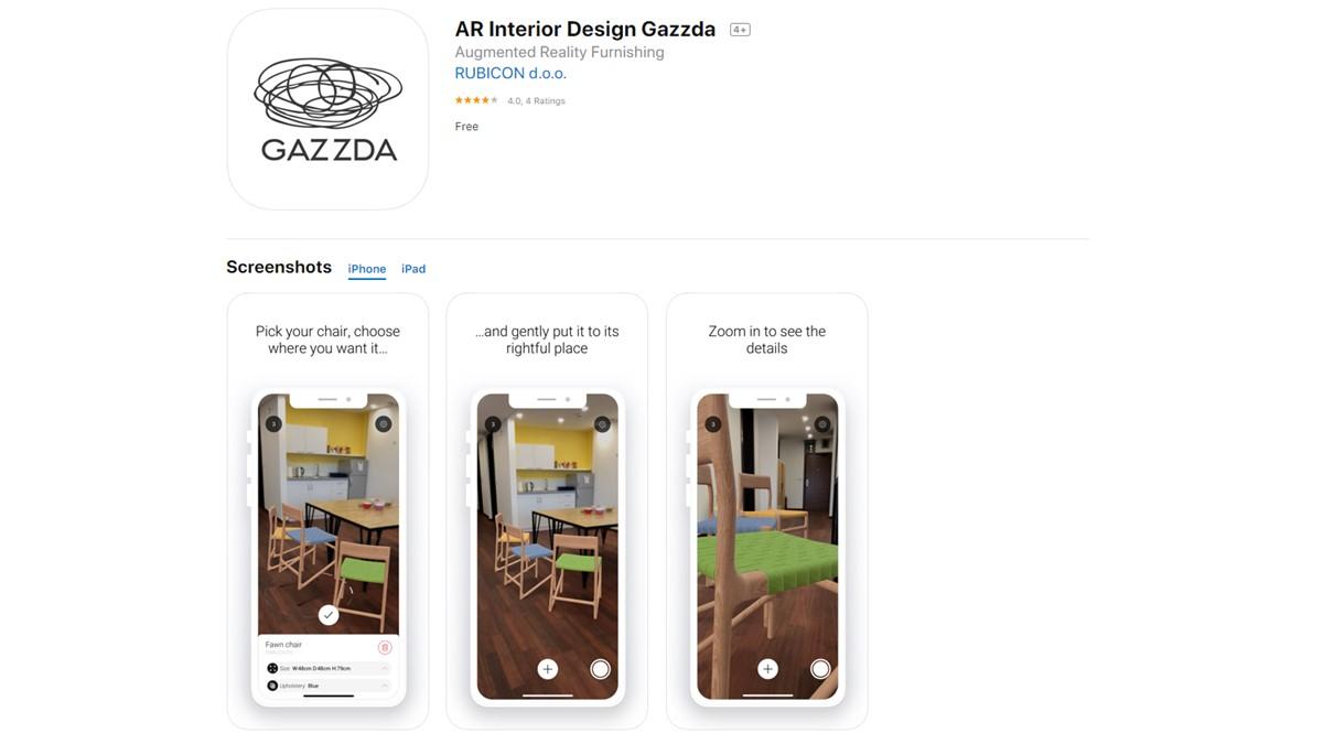 Die GAZZDA App gibt es sowohl für iOS als auch für Android