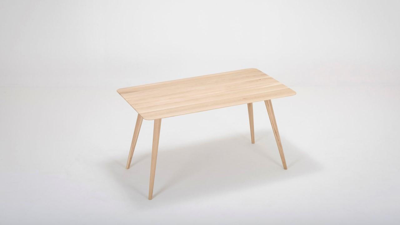 GAZZDA Stafa Schreibtisch in der Basis-Ausstattung ohne integrierte Ablagefächer