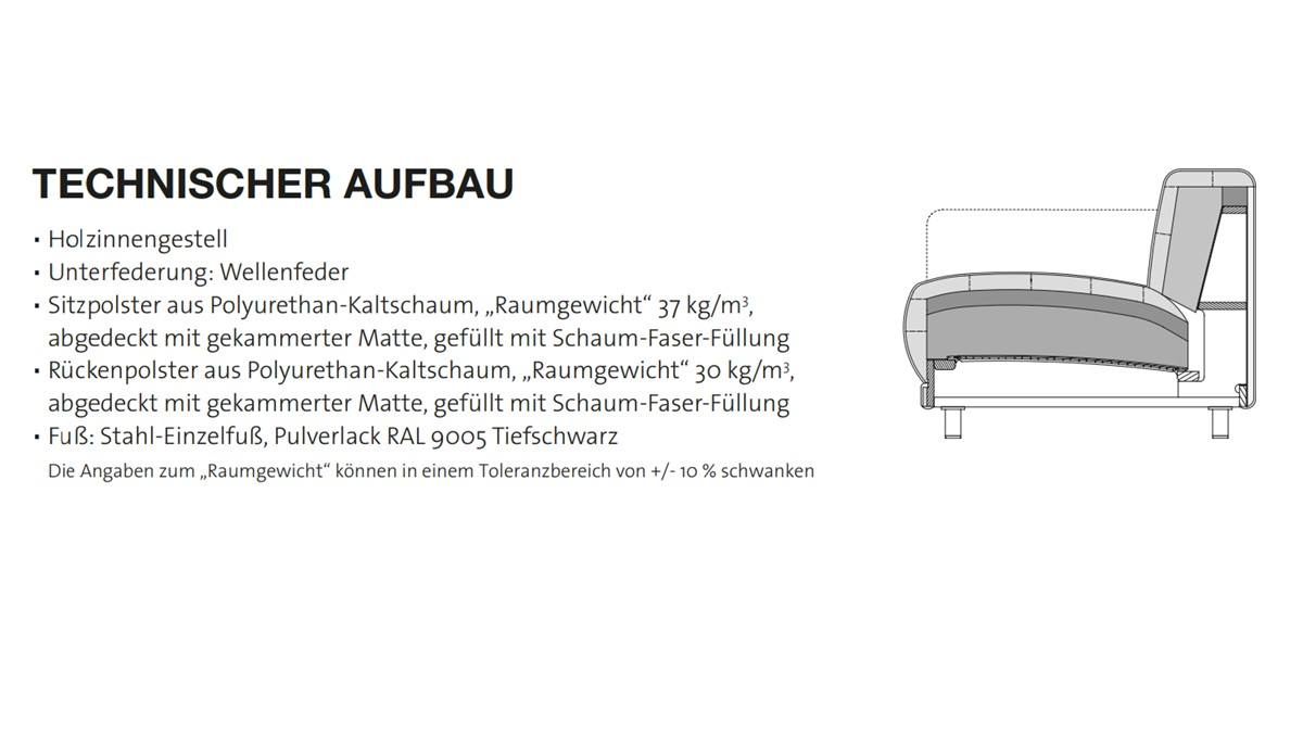 Der technische Aufbau von freistil 136 überzeugt bis ins kleinste Detail. Made in Germany spürt man einfach.