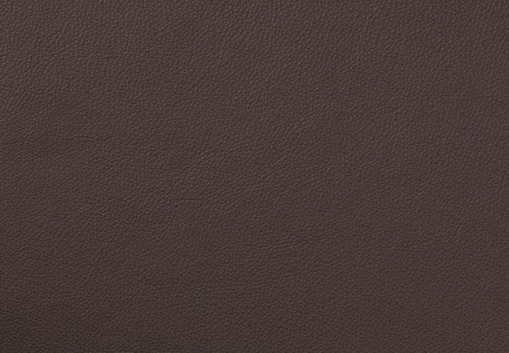 #9003 Leder dunkelbraun, Leder leicht pigmentiert
