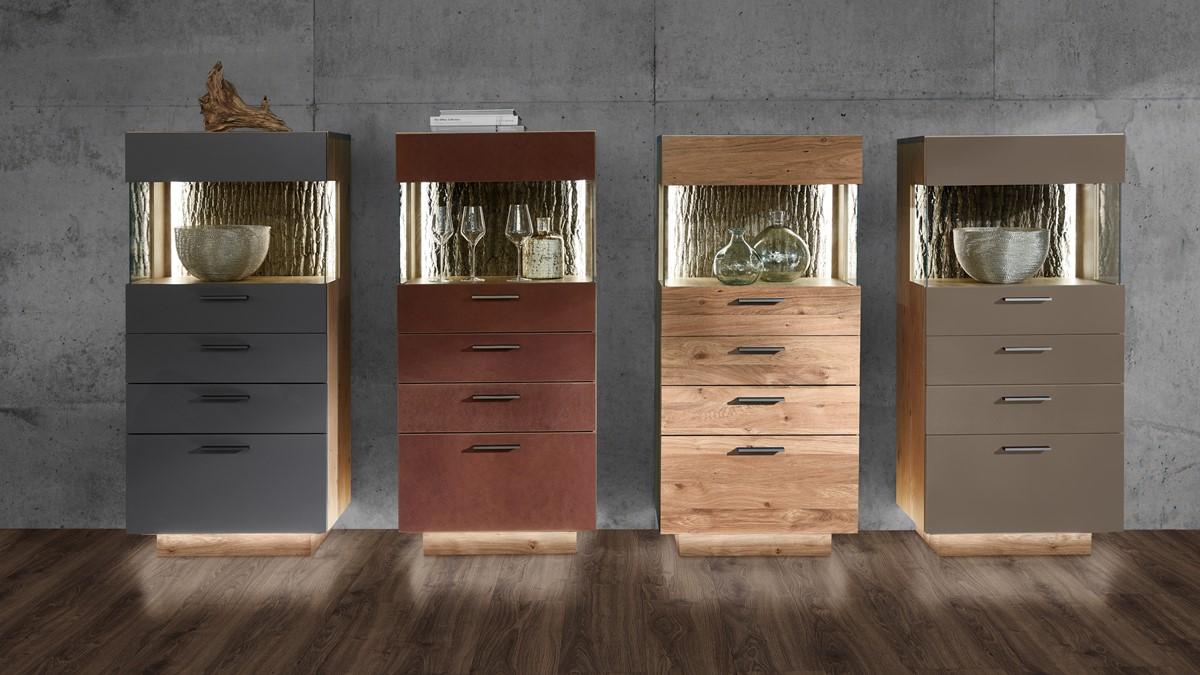 Gestalte Dein individuelles Schröder KITZALM PUR Highboard und wähle aus verschiedenen Designs!