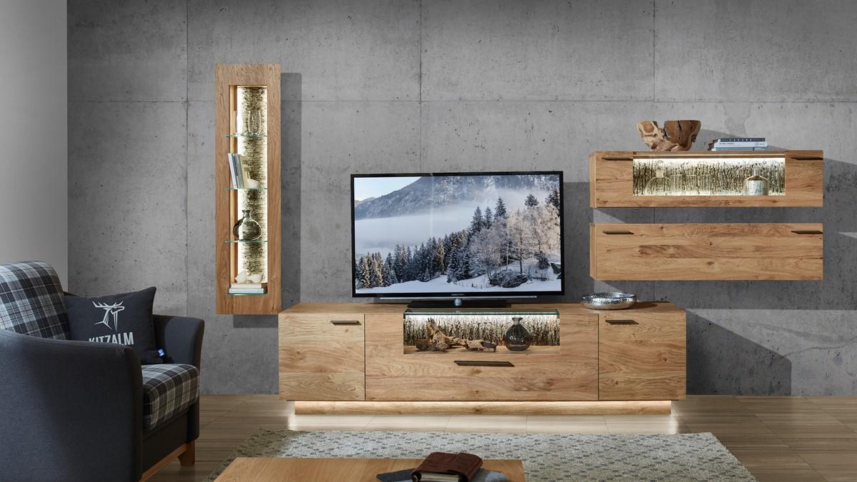 Schröder KITZALM PUR Wohnwand Nr. 4 jetzt im Markenmöbel-Onlineshop konfigurieren und Aktions-Preis nutzen.