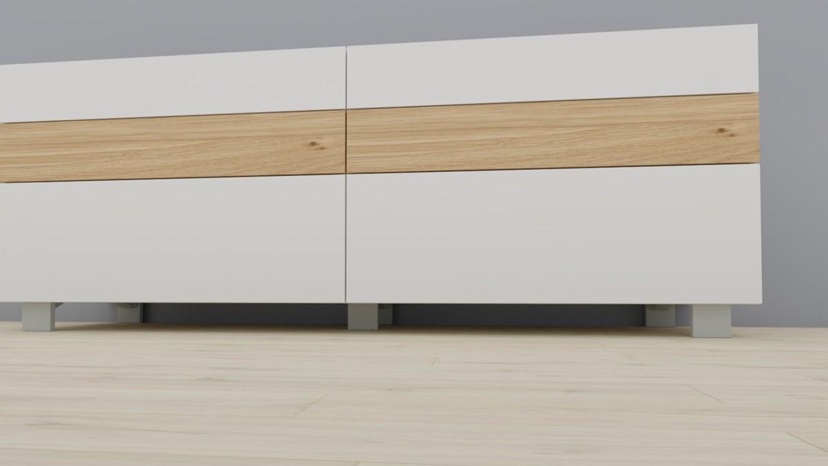 #1402 Füße-Set passend für NOW! VISION Sideboards
