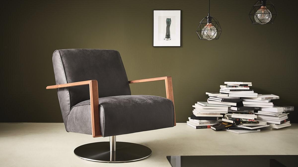 Der KOINOR ICARUS Sessel begeistert mit seinem Design. Bei uns kannst Du ihn selbst gestalten!