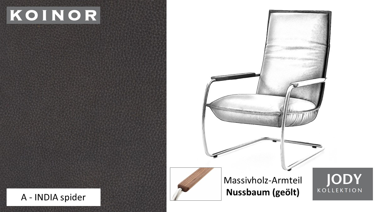 KOINOR JODY Freischwinger - Sessel