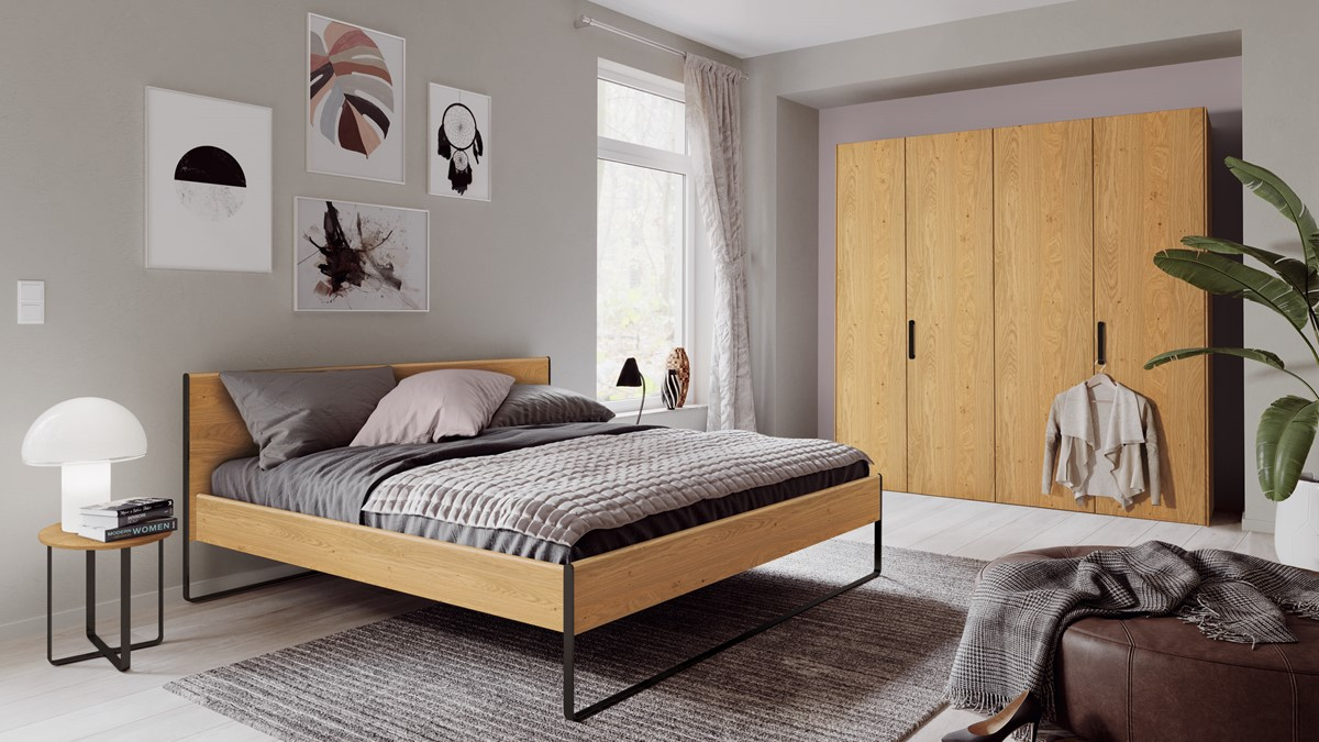 Hulsta Neo Schlafzimmer Kombination Natureiche Zu Unserem Bestpreis