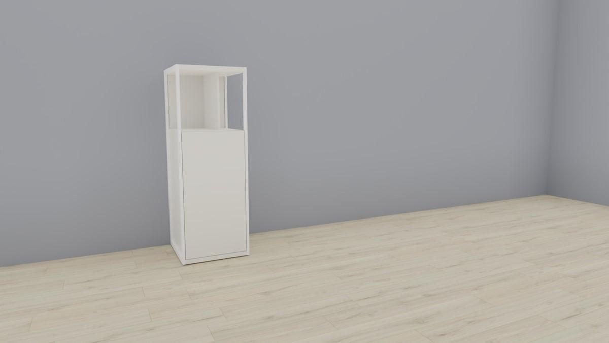 hülsta NOW! VISION Einzelmöbel 6 R #16141 - Front Lack-weiß, OHNE Akzent