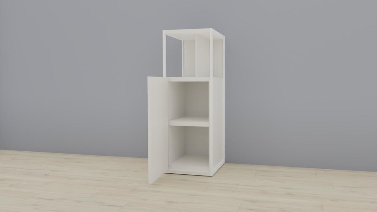 hülsta NOW! VISION Einzelmöbel 6 R #16141 - geöffnete Ansicht