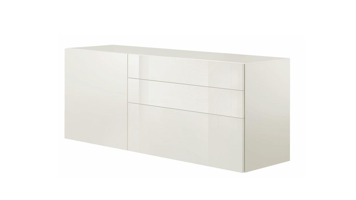 hülsta NOW! Vision Sideboard #14271 mit einer Türe und drei Schubladen