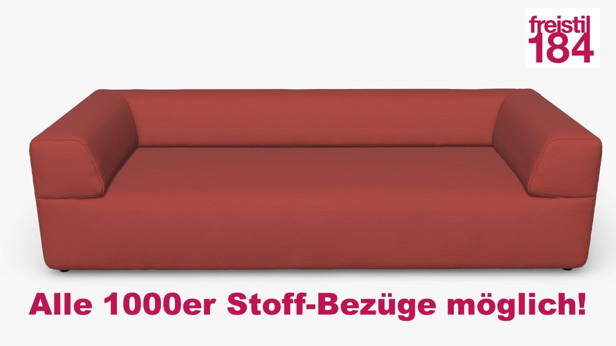 freistil 184 Sofabank Alle 1000er Stoff-Bezüge möglich!