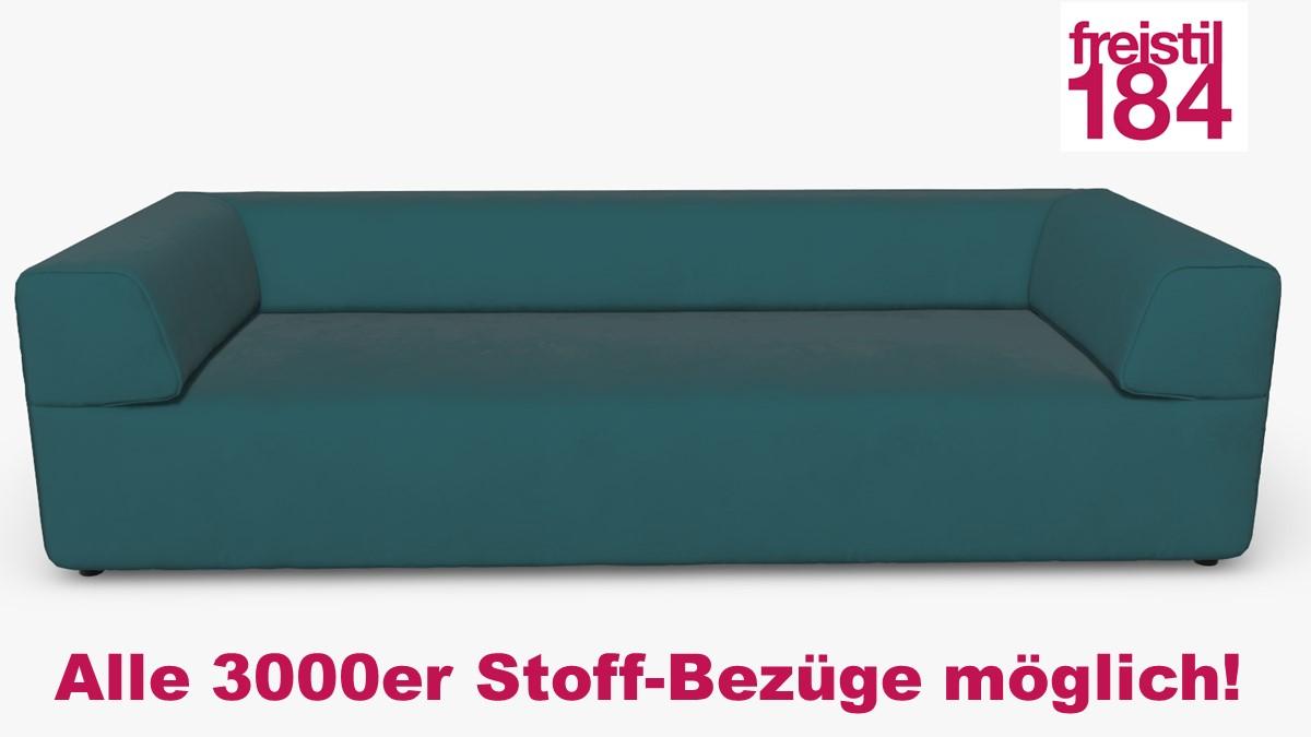 freistil 184 Sofabank Alle 3000er Stoff-Bezüge möglich!