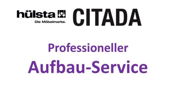 Auf Wunsch kannst Du ergänzend zu Deiner hülsta CITADA Bestellung bei uns den professionellen Aufbau-Service durch unseren Montage-Fachpartner buchen.