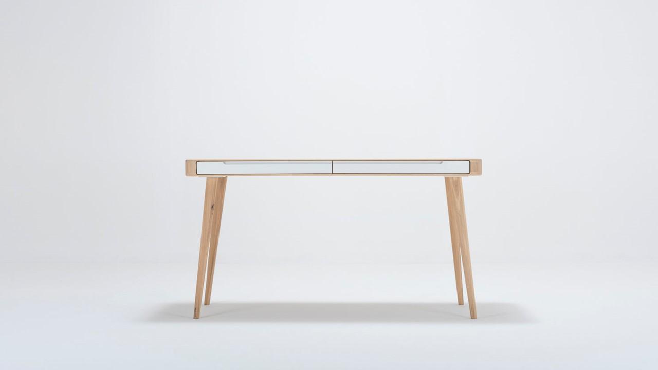 Bestelle jetzt Deinen eigenen GAZZDA ENA Schreibtisch mit zwei Schubladen im Markenmöbel-Onlineshop.