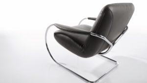 Der KOINOR JINGLE Freischwinger-Sessel begeistert mit einem innovativen Sitzgefühl