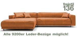 Designe jetzt Dein freistil 136 Sofa mit Longchair links im Markenmöbel-Onlineshop.