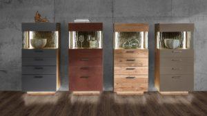Gestalte Dein individuelles Schröder KITZALM PUR Highboard und wähle aus verschiedenen Designs