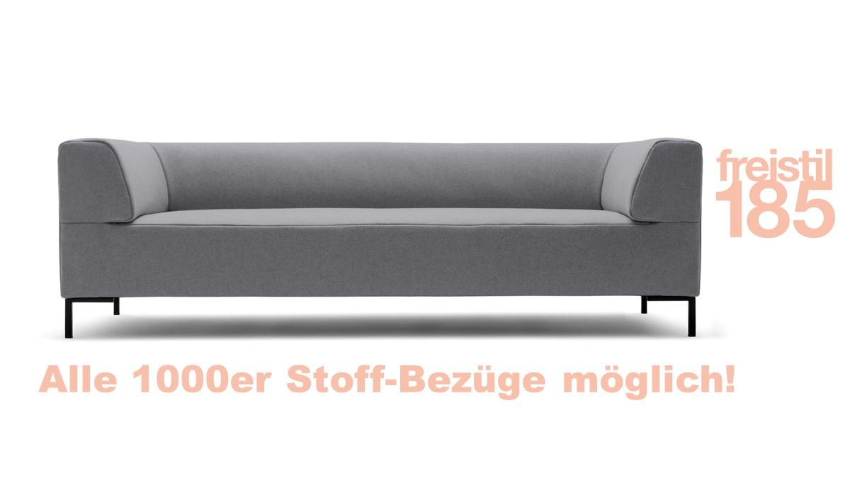 Gestalte Deine freistil 185 Sofabank in der Breite 223 cm