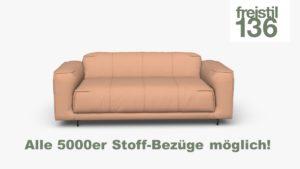 Gestalte jetzt Dein freistil 136 Sofa in der Breite 183 cm im individuellen 5000er Stoff-Bezug