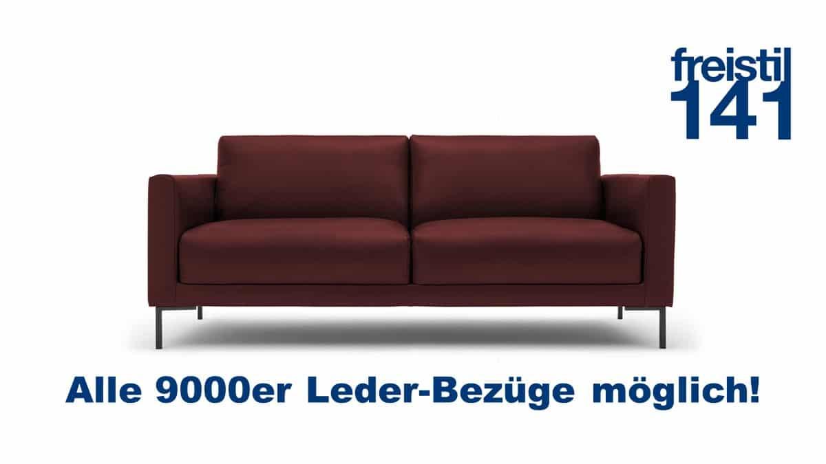 Gestalte jetzt Dein freistil 141 Sofa in der Breite 194 cm - Alle 9000er Leder erhältlich