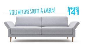 Gestalte jetzt Dein individuelles freistil 141 Sofa in der Breite 190 cm. (bzw. 228 cm)