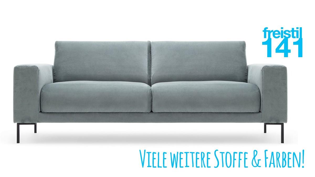 Gestalte jetzt Dein individuelles freistil 141 Sofa mit breiten Seitenteilen und wähle aus verschiedenen Looks