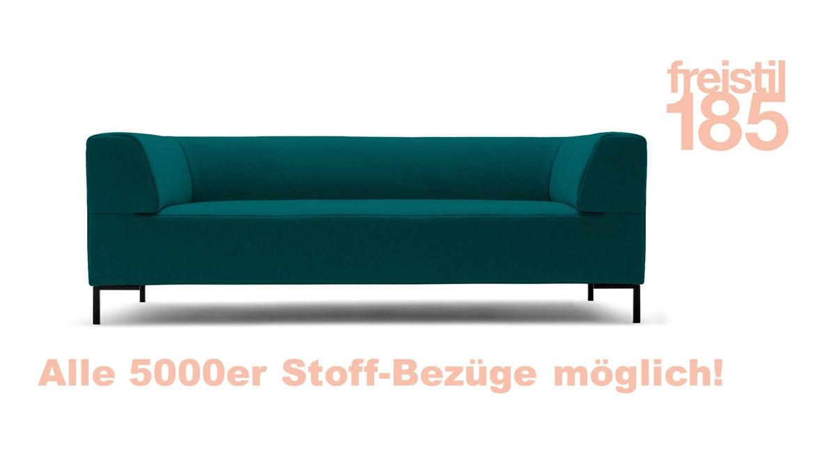 Gestalte jetzt Deine eigene freistil 185 Sofabank in der Breite 203 cm mit unserem neuen freistil-Konfigurator