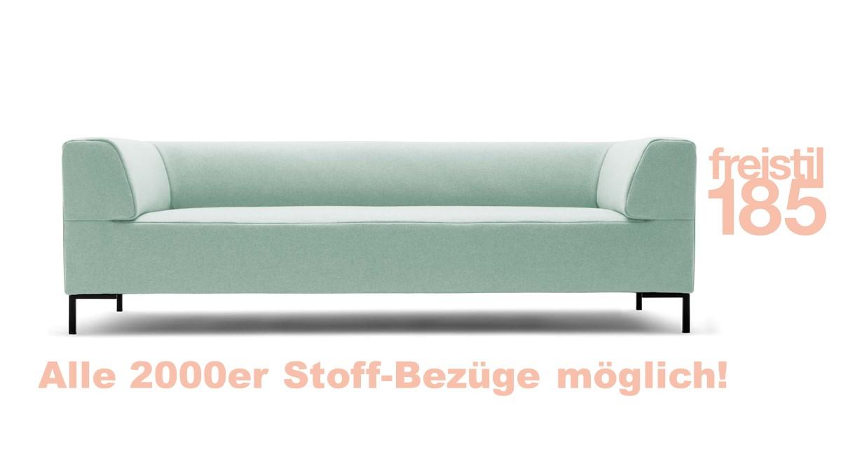 Gestalte jetzt Deine eigene freistil 185 Sofabank in der Breite 223 cm in unserem freistil-Sofakonfigurator.