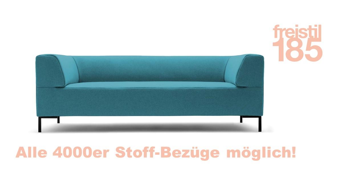 Gestalte jetzt Deine freistil 185 Sofabank in der Breite 203 cm mit unserem smarten freistil-Konfigurator