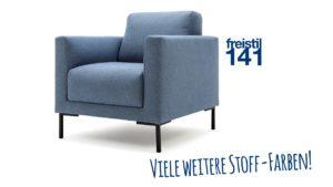 Konfiguriere jetzt Deinen eigenen Sessel mit dem Baukasten des Modells freistil 141