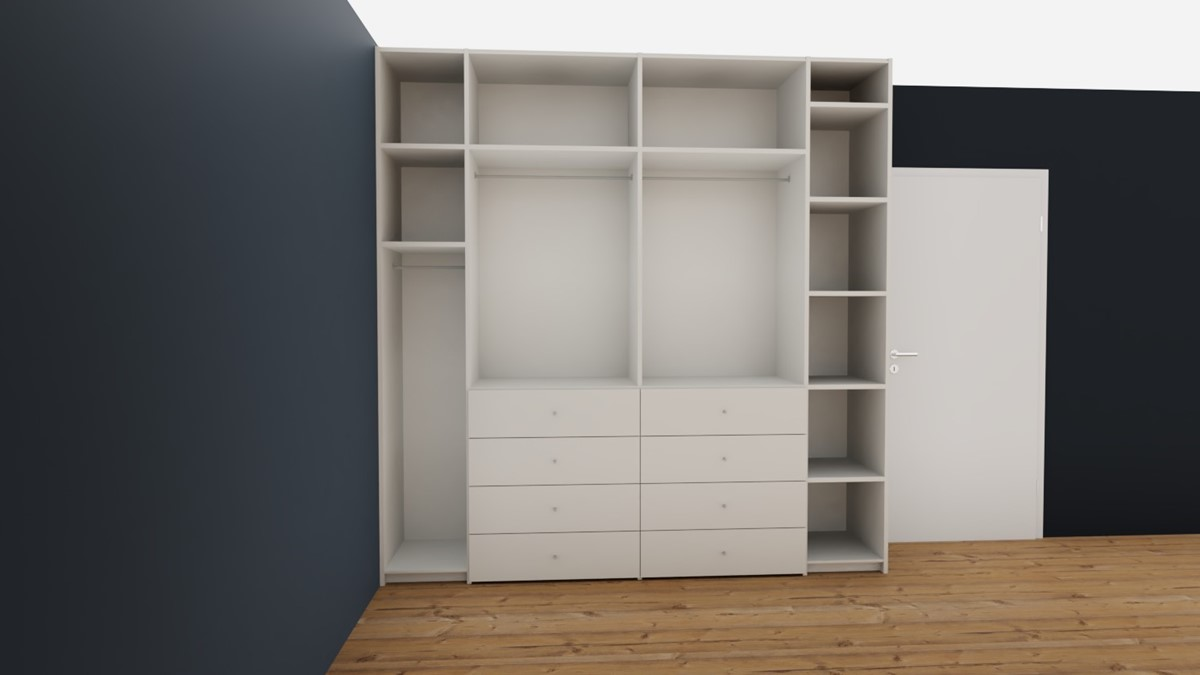 Hulsta Now Flexx Offener Kleiderschrank No 2 Edition Josimariaxx Markenmobel Onlineshop
