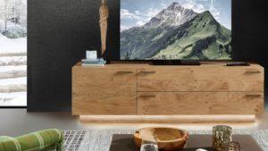Schröder KITZALM PUR Lowboard mit einer Tür und zwei Schubladen online konfigurieren.