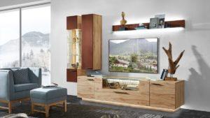 Schröder KITZALM PUR Wohnwand Kombination Nr. 1 jetzt individuell konfigurieren und zu unserem Bestpreis bestellen