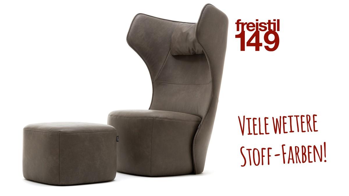 Set freistil 149 Sessel und Hocker