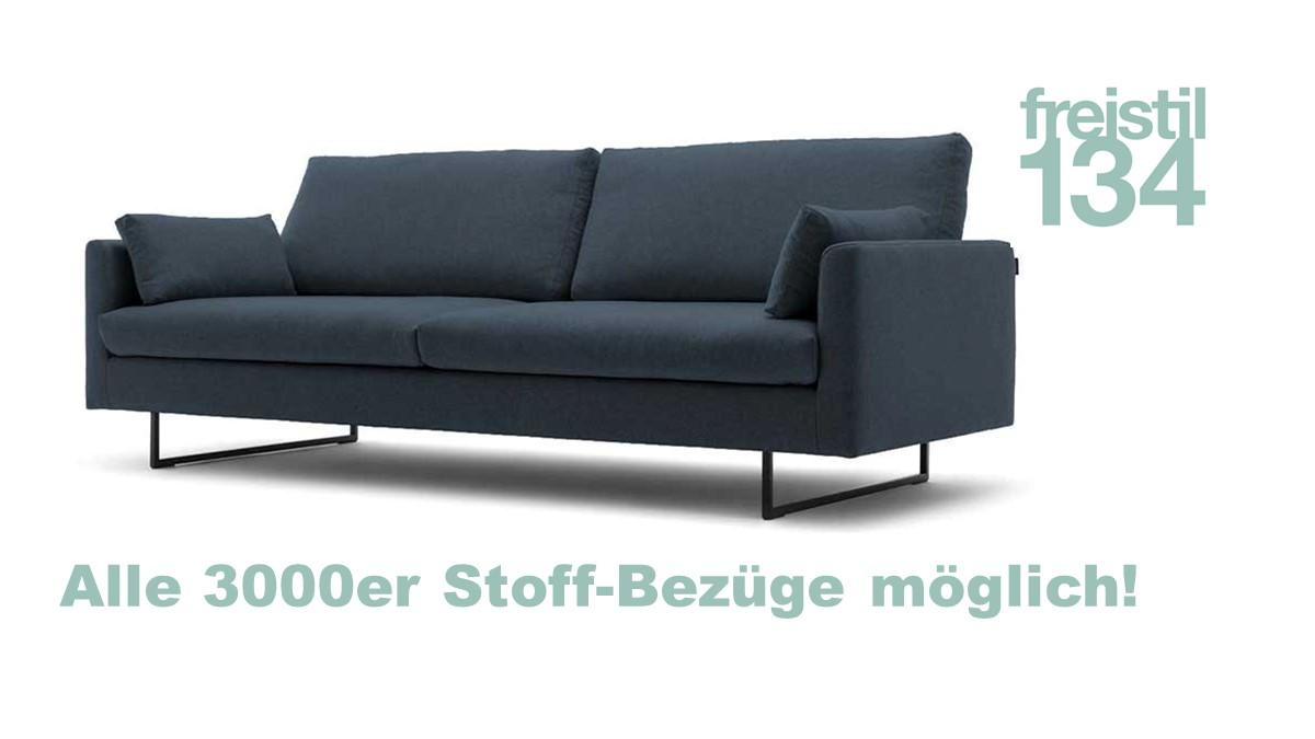 freistil 134 Sofa-Bank in der Breite 222 cm