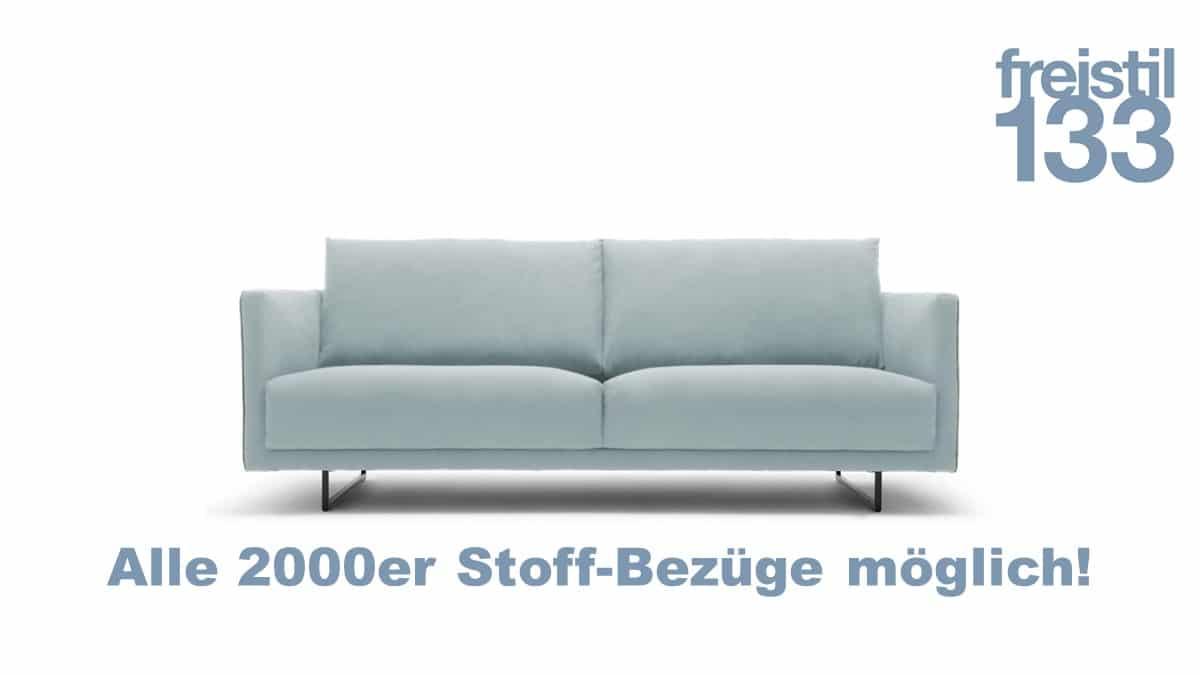 freistil 133 Sofa in der Breite 202 cm im 2000er Stoff konfigurierbar