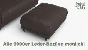 freistil 136Polsterbank - Alle 9000er Leder-Bezüge möglich