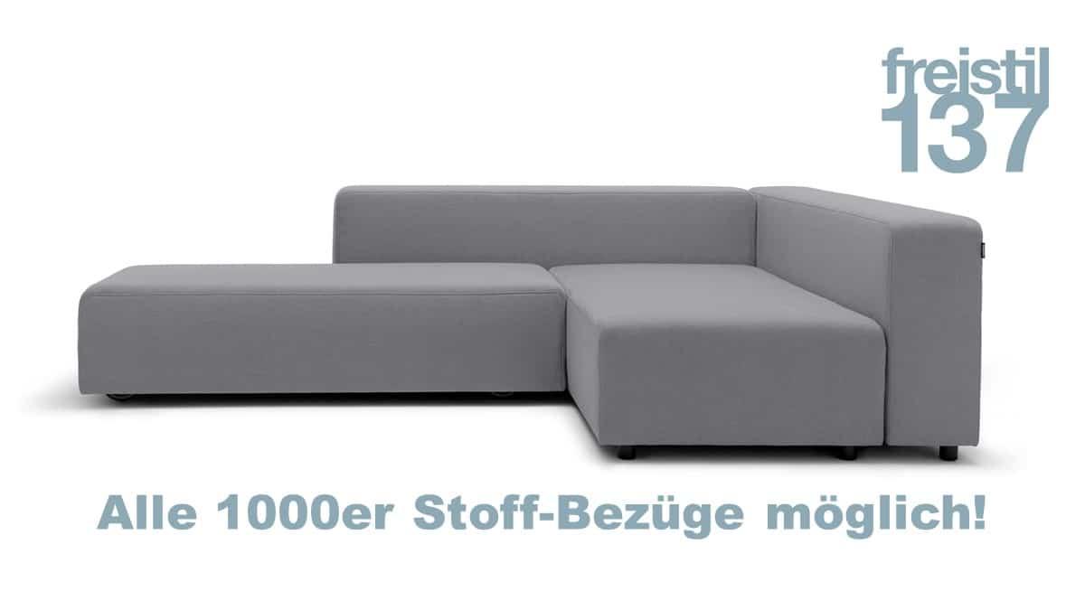 freistil 137 Sofa in allen 1000er Bezügen erhältlich
