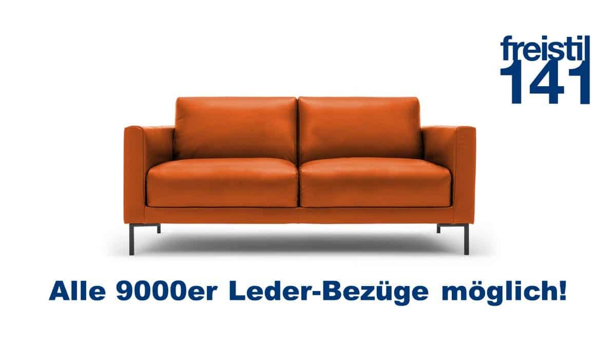 freistil 141 Sofabank im 9000er Leder - Alle 9000er Leder erhältlich