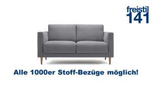 freistil 141 Sofabank in allen 1000er Stoffen konfigurierbar